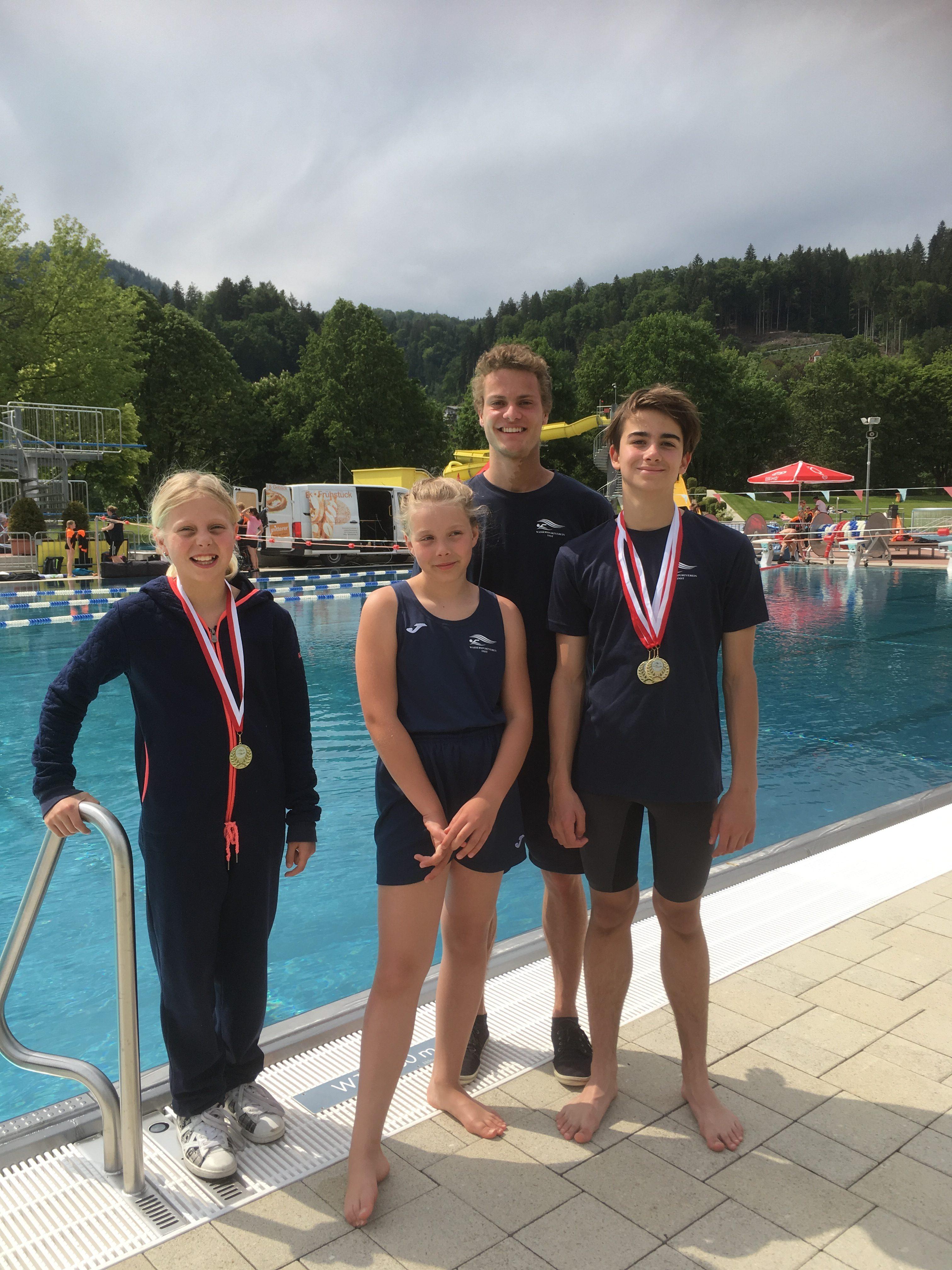 5 Medaillen Beim 40. TUK-Turnier In Kufstein Für Den WSV Imst