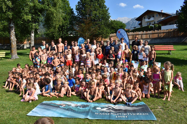 Großer Sommerschwimmkurs
